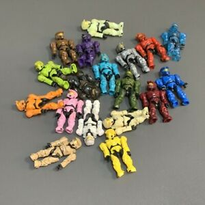 Random Pick Lot 5 Mega Bloks Construx Halo UNSC SPARTAN MASTER CHIEF Figures