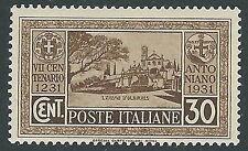 1931 REGNO S. ANTONIO 30 CENT MH * - CZ20-5