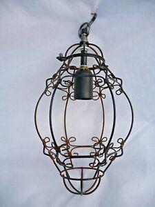 Vintage Large Open Porch Lantern Light Intricate metal work design Project