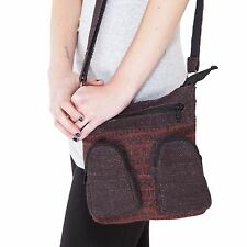 Natural Eco Boho Hemp Mini Crossbody Messenger bag-90436