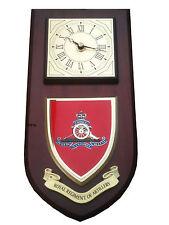 Royal Artillery Regiment Military Wall Plaque & Clock Mess Shield
