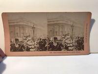 Londra Bank Of Inghilterra London UK Foto Stereo Vintage Citrato