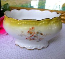 SM Limoges Elite Nut Bow, Antiquel Depose Hand Painted Bowl Circa Late 1800s
