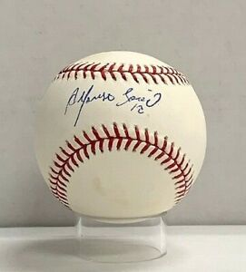 Alfonso Soriano Signed Official MLB Baseball PSA/DNA H04049 Yankees
