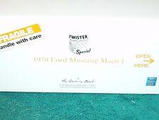 DANBURY MINT 1970 FORD MUSTANG MACH 1 TWISTER 1/24 w ALL PAPERWORK