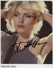Deborah Harry Blondie w/reproduction signature archival quality, 003