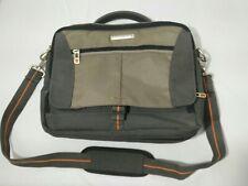 90's Vintage laptop messenger Eddie Bauer Bag Grey Business bag