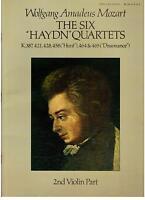 Mozart: 6 Streichquartette Gewidmet A Haydn K.387, 421, 428, 458, 464, 465 - 2°