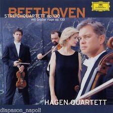 Beethoven: String Quartets Op. 130 & 133 / Hagen Quartet  -  CD