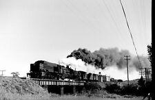 New South Wales Railways 60 Class Garratt 6009 near Wyee heading to Gosford 1970