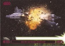 "Star Wars Jedi Legacy - Magenta Parallel Card 14A ""Destroys Droid Control Ship"""
