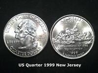 US State Quarter 1999 New Jersey  (D)