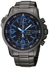 Seiko Prospex Solar Chronograph Compass Black Dial Men's Watch SSC079