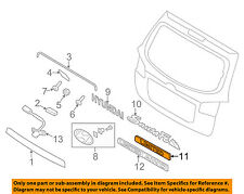 HYUNDAI OEM 07-14 Sonata Trunk Lid-Emblem Badge Nameplate 863300W000