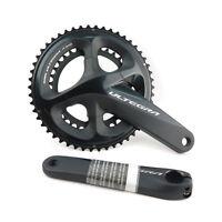 Shimano Ultegra FC-R8000 2 x 11 Speed Road TT Bike Bicycle Cycling Crankset