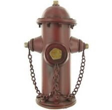 Vintage Firefighter Hydrant Metal Bank Fire Department Truck FDNY Office New