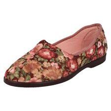 36 Pantofole da donna multicolore