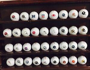 Complete Set of (NFL Team LOGO Helmets) Bridgestone Golf Balls AAAA ALL 32 teams
