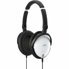 JVC Victor Fold type stereo headphone HA-S600-W Japan with Tracking