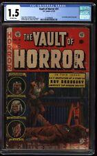 The Vault of Horror #31 CGC 1.5  EC Comics 1953 Pre-Code Horror