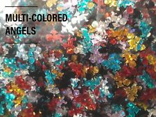 USA Nail Art 3D ANGEL GLITTER SEQUINS  Christmas Winter Xmas Acrylic Gel Crafts