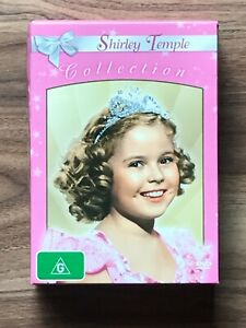 SHIRLEY TEMPLE COLLECTION DVD Box Set - Heidi, Dimples, Curly Top, Brighter Eyes