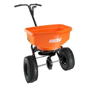 Echo RB-80 Large Capacity Spreader, Holds 80 lbs., 1.5 Cubic Ft., Powder Coated