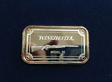 1993 SilverTowne Winchester Rifle Model 70 ST-239 Silver Art Bar P2381