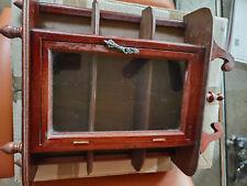 4 x Ziervitrine Mini Vitrinen zB. für Modelauto in Mitte ca. 16 cm hinter Glas