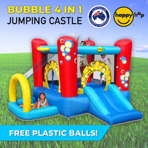Bubble 4 in 1 Play Centre Inflatable Happy Hop Jumping Castle - 9214