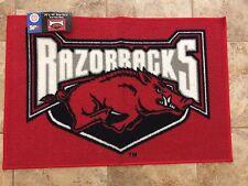 """Arkansas Razorbacks 20""""x30"""" Bath Bedroom Area Door Welcome Mat Rug"""