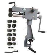 "SwitZer 7"" Bench Bead Roller Steel Bender Sheet Metal Swager Tool Rotary Machine"