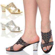 Scarpe da donna pantofole, ciabatte sintetico di sera