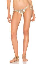 PILYQ Embroidered Lettuce Teeny Bikini Bottoms Size 10-12 BNWT RRP $80 Paisley