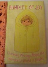 1971 Hallmark Baby Book Bundle Of Joy HC DJ Writing Wonderful World Of Babies