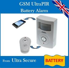 Battery Powered 2G GSM PIR Alarm (UltraPIR)