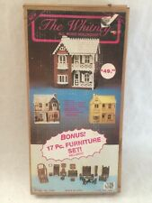 Whitney All Wood Victorian DollHouse Kit-17 Piece Furniture Set-New in Box#51501
