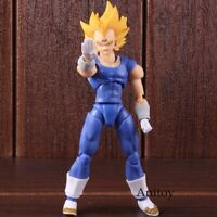 SHF S.H. Figuarts Anime Dragon Ball Z Figure Super Saiyan Majin Vegeta PVC Actio
