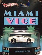 Hot Wheels Retro Entertainment Miami Vice Ferrari F512 M