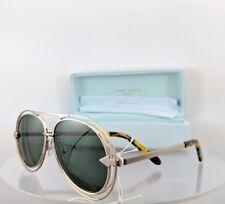 Brand New Authentic Karen Walker Sunglasses Jacques Light Gold Frame