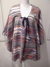 Free People ONE TEASPOON Native Fleece Southwest Poncho $200+ NWT