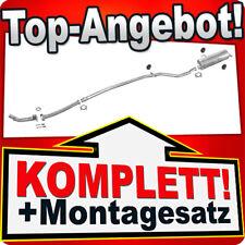 Auspuff PEUGEOT 206 1.1 1.4 Schrägheck / auch 206+ Auspuffanlage F14