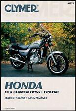 CLYMER MANUAL HONDA GL500 1981-1982 & GL650 1983 SILVER WING & INTERSTATE GL 650