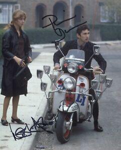 QUADROPHENIA 8x10 photo signed Phil Daniels & Leslie Ash SEE PROOF! UACC DEALER