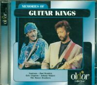 Memories Of Guitar Kings - Santana/Hendrix/Clapton/Jimmy Page/Mayall 2X Cd Ex