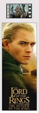 LORD OF THE RINGS Return of the King Legolas MOVIE FILM CELL PLASTIC BOOKMARK