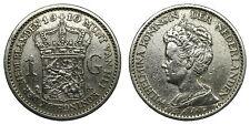 Netherlands- 1 Gulden 1910 - Zeldzaam