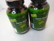 Irwin Naturals soleado estado de ánimo 5-HTP sentirse bien la fórmula 80 geles de suave (2pk Paquete)