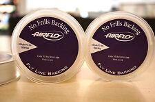 Airflo no Frills-no kräuselnd-backing 91 metros 18lb blanco