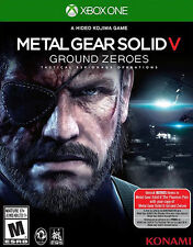 Metal Gear Solid V Ground Zero Zeroes Microsoft Xbox One Video Game 5